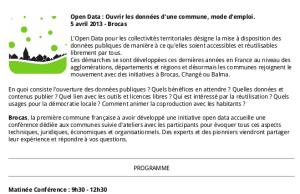 image programme Conférence Mode d'emploi