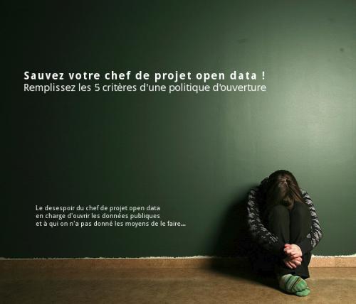 Le desespoir du chef de projet open data. Image adaptée de Vanmattug par Sara Bjork sous licence Creative Commons cc-by-nc-sa https://www.flickr.com/photos/aegishjalmur/2288932018/